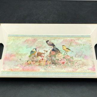 Plastic Vintage Tray