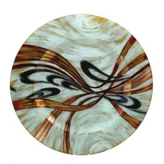 DECORATIVE GLASS PLATES