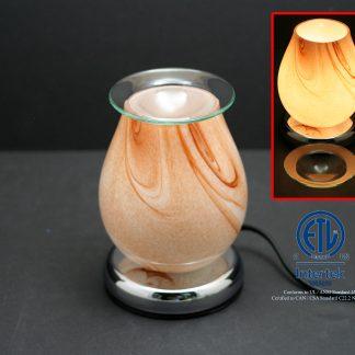 Eggshell Glass Lamp